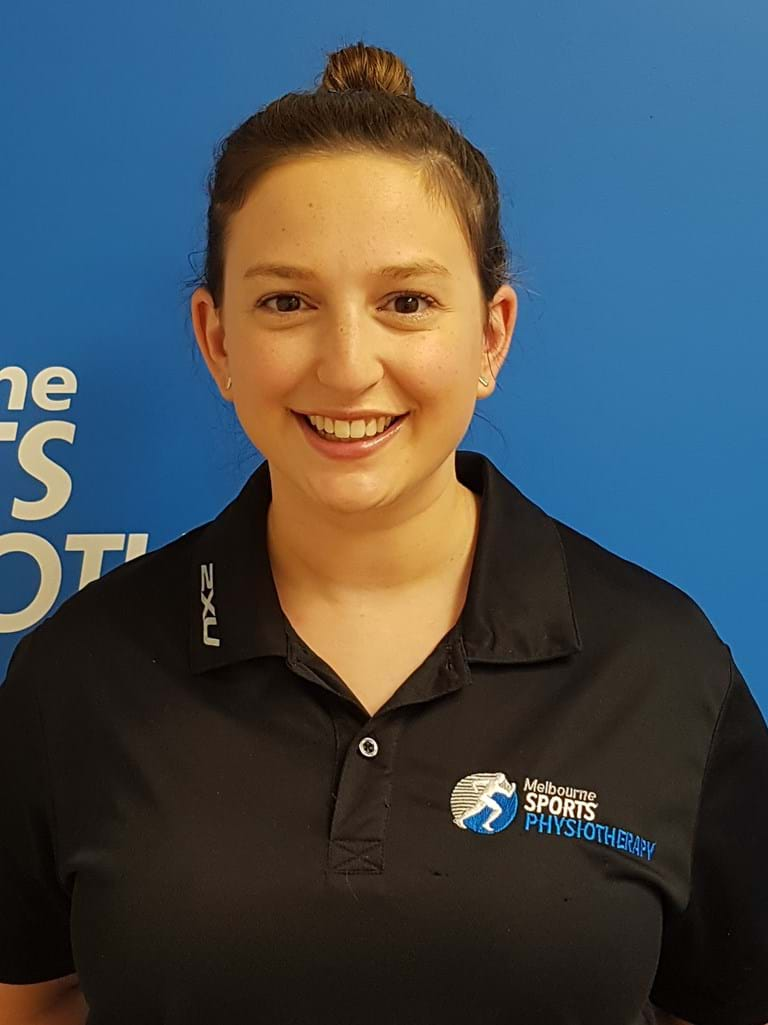 Rebecca Huppert Physiotherapist Essendon and Blackburn Physiotherapy