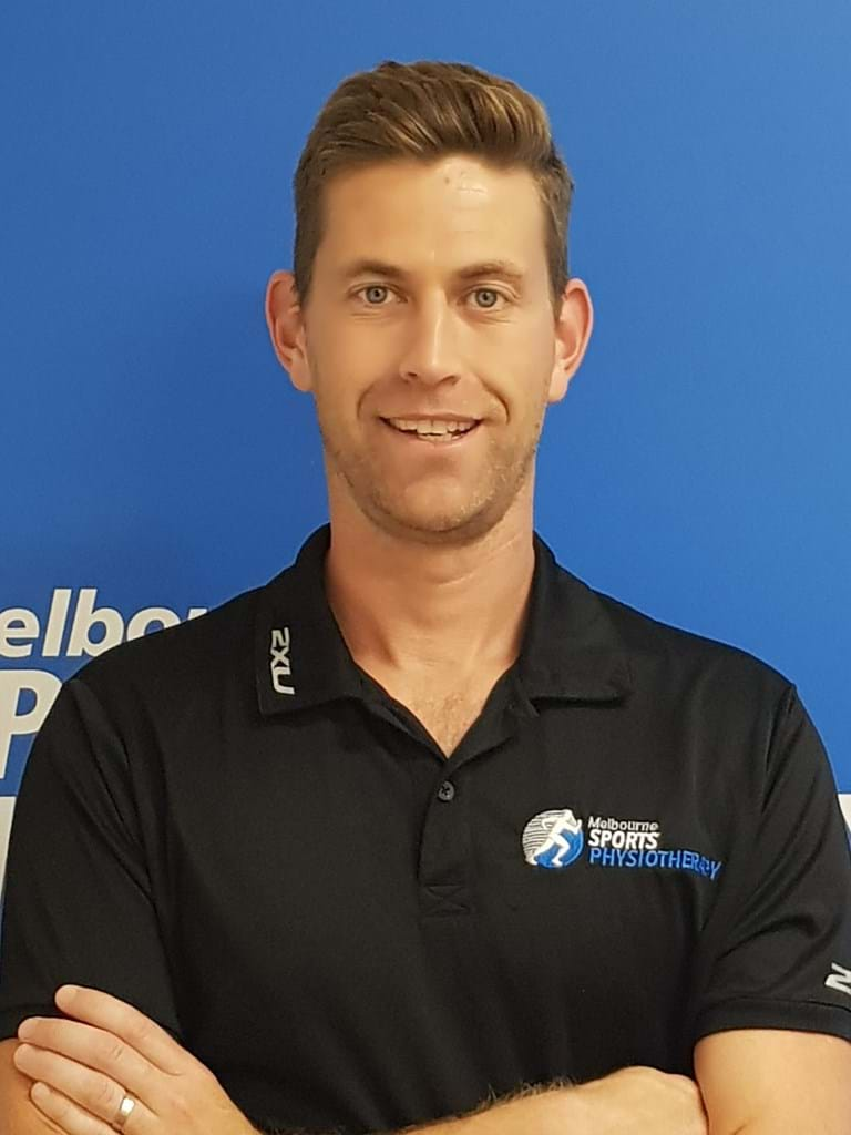Tony Beecroft APA sports physiotherapist at Melbourne Sports Physiotherapy